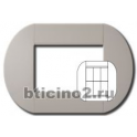 BTICINO - LIVINGLIGHT PLACCA TONDA 3+3 MODULI COLONIAL LNB4826CL