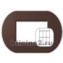 BTICINO - LIVINGLIGHT PLACCA TONDA 3+3 MODULI MARRAKECH LNB4826MA