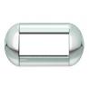 BTICINO - LIVINGLIGHT PLACCA TONDA 4 MODULI CROMO LUCIDO LNB4804CR LNB4804CR Bticino LivingLight Placche Tonde 19,83 €