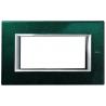 BTICINO - AXOLUTE PLACCA RETTANGOLARE 4 MODULI VERDE SEVRES HA4804VS HA4804VS-NO Bticino Placche Axolute Rettangolari 16,02 €