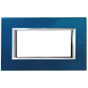 BTICINO - AXOLUTE PLACCA RETTANGOLARE 4 MODULI BLU MEISSEN HA4804BM HA4804BM-NO Bticino Placche Axolute Rettangolari 15,49 €