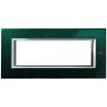 BTICINO - AXOLUTE PLACCA RETTANGOLARE 6 MODULI VERDE SEVRES HA4806VS HA4806VS-NO Bticino Placche Axolute Rettangolari 23,79 €