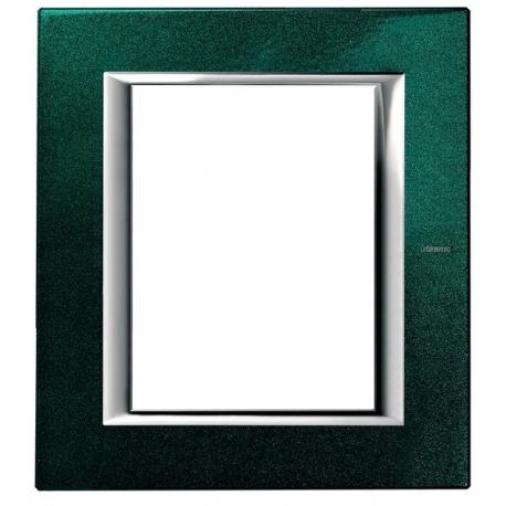 BTICINO - AXOLUTE PLACCA RETTANGOLARE 3+3 MODULI VERDE SEVRES HA4826VS HA4826VS-NO Bticino Placche Axolute Rettangolari 24,05 €