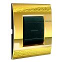 BTICINO - LIVINGLIGHT PLACCA AIR 2 MODULI GREEK LNC4802GK LNC4802GK-NO Bticino LivingLight Placche Air 28,30 €