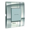 BTICINO - LIVINGLIGHT PLACCA AIR 2 MODULI STRIPES LNC4802SP LNC4802SP-NO Bticino LivingLight Placche Air 28,30 €