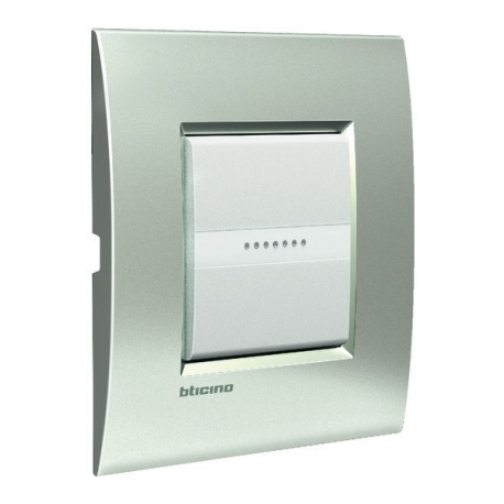 BTICINO - LIVINGLIGHT PLACCA AIR 2 MODULI TECH LNC4802TE LNC4802TE Bticino LivingLight Placche Air 10,86 €
