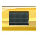 BTICINO - LIVINGLIGHT PLACCA AIR 3 MODULI GREEK LNC4803GK LNC4803GK-NO Bticino LivingLight Placche Air 28,30 €