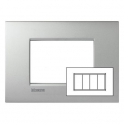 BTICINO - LIVINGLIGHT PLACCA AIR 4 MODULI TECH LNC4804TE