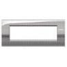 BTICINO - LIVINGLIGHT PLACCA AIR 7 MODULI NET LNC4807NE LNC4807NE Bticino LivingLight Placche Air 42,43 €