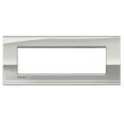 BTICINO - LIVINGLIGHT PLACCA AIR 7 MODULI PALLADIO LNC4807PL