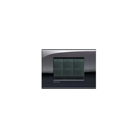 BTICINO - LIVINGLIGHT PLACCA AIR 7 MODULI PELTRO LUCIDO LNC4807PT LNC4807PT Bticino LivingLight Placche Air 31,82 €