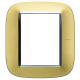 BTICINO AXOLUTE PLACCA ELLITTICA 3+3 MODULI HB4826OS HB4826OS-NO Bticino Placche Axolute Ellittiche 32,84 €