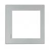BTICINO AXOLUTE PLACCA QUADRATA 8 MODULI ALLUMINIO HW4828HC HW4828HC-NO Bticino Placche Axolute Eteris 65,34 €