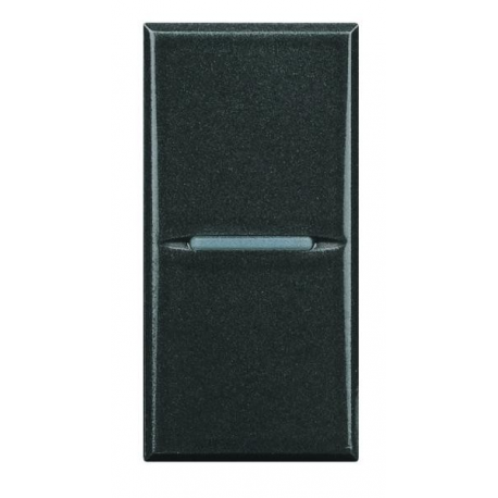 BTICINO - AXOLUTE HS4001N INTERRUTTORE ASSIALE 1P 16A ANTRACITE HS4001 Frutti Axolute Antracide 8,14 €