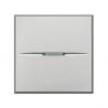 BTICINO - AXOLUTE DEVIATORE ASSIALE 1P 2M 16A GRIGIO CHIARO HC4003/2 HC4003/2-NO Frutti Axolute Tech 10,21 €