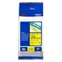 BROTHER TZE651 Nastro 24mm Nero - Giallo