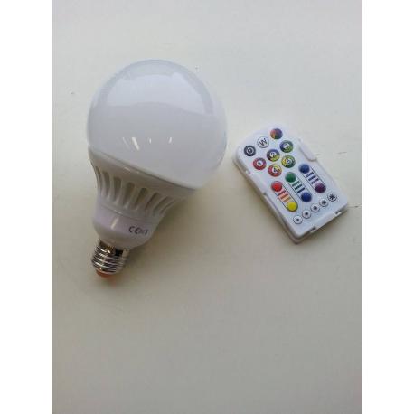 VELAMP GLOBO A LED WARM WHITE ATTACCO E27