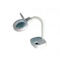 VELAMP MAGNIFIER 4 Lampada con lente di ingrandimento in vetro