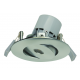 Faretto incasso BEST QUALITY LINE Brushed nickel Light Topps Integra 230lm S35 a LED integrato