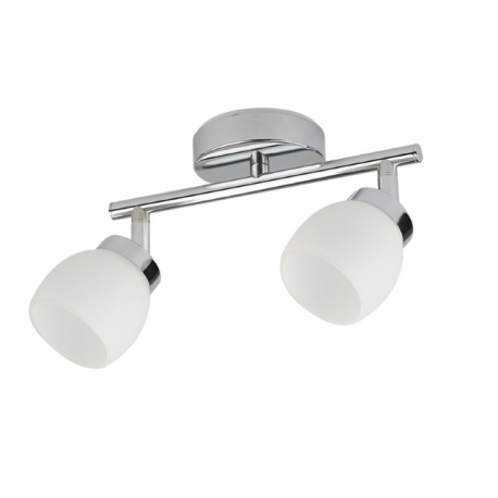 Faretto Linea CUUP 2-LIGHT brushed nickel Light Topps 200lm