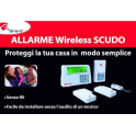 ALLARME EUROPENET BRAVO SCUDO VIA RADIO WIRELESS