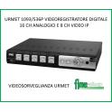 URMET 1093/536P VIDEOREGISTRATORE DIGITALE 16CH 1080P 1093/536P Urmet DVR