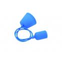 VELAMP PS090-B Sospensioni in silicone per lampade E27 portalampade blu