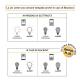 ALADINO LED LAMP 10W (70W LIGHT) A65 E27 NATURAL (4000K) 270°