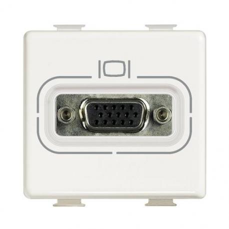 BTICINO MATIX CONNETTORE VIDEO HD15 (VGA) AM4282 AM4282-NO Bticino Frutti Matix 11,50 €