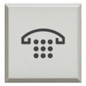 BTICINO - AXOLUTE DIFFUSORE COPRITASTO BIANCO CON SIMBOLO TELEFONO PER PULSANTE LUMINOSO H4920BLH