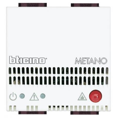 BTICINO - LIVINGLIGHT RIVELATORE GAS METANO N4511/12 N4511/12 Bticino Frutti LivingLight Bianchi 144,78 €