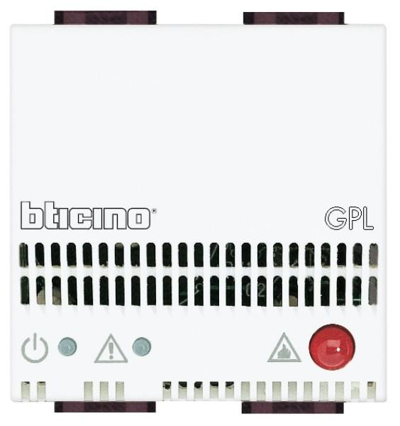Volontaire Bticino - Rivelatore Gas Gpl N4512/12 Sans Retour