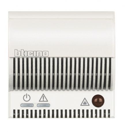 BTICINO - AXOLUTE RIPETITORE DI SEGNALE PER RILEVAMENTO GAS SEGNALAZIONI OTTICHE ACUSTICHE BIANCO HD4520 HD4520-NO Frutti Ax...