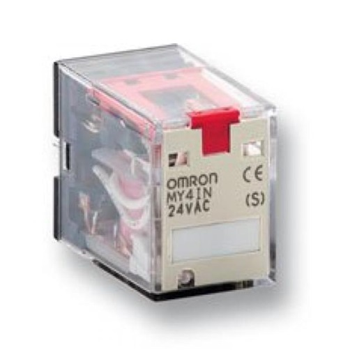 Details about OMRON MY4N110120ACS 15 RELAY' 4SPDT 110 120VAC LED