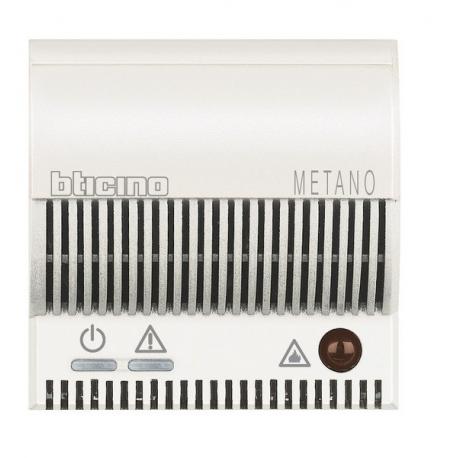 BTICINO - AXOLUTE HD4511V12 RILEVATORE DI GAS METANO BIANCO HD4511V12 Frutti Axolute Bianchi 229,71 €