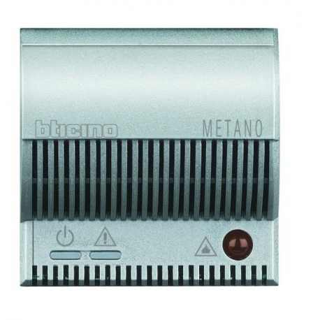BTICINO - AXOLUTE RILEVATORE DI GAS METANO GRIGIO CHIARO HC4511/12 HC4511/12 Frutti Axolute Tech 229,71 €