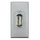 BTICINO AXOLUTE PRESA USB GRIGIO CHIARO HC4285C HC4285C Bticino Frutti Axolute Tech 19,87 €