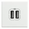 BTICINO AXOLUTE HD4285C2 PRESA USB BIANCO HD4285C2 Bticino Frutti Axolute Bianchi 22,98 €
