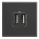 BTICINO AXOLUTE PRESA USB ANTRACITE HS4285C2 HS4285C2 Bticino Frutti Axolute Antracide 21,69 €