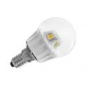 56070 BEGHELLI LAMPADA ECO SFERA LED 6W 230V E14 3000K