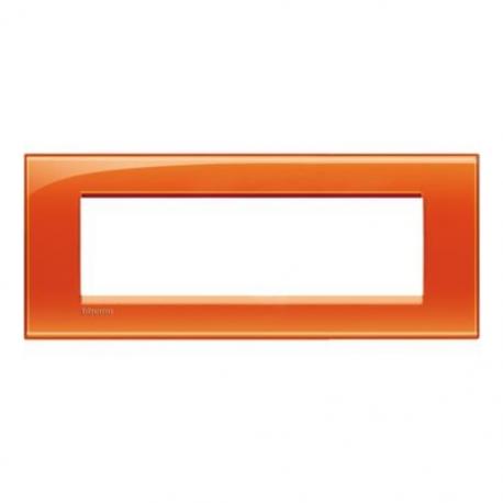 BTICINO - LIVINGLIGHT LNA4807OD PLACCA QUADRA 7 MODULI ARANCIO DEEP LNA4807OD Bticino LivingLight Placche Quadre 11,60 €
