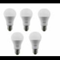 56802 BEGHELLI CONFEZIONE DA 5 LAMPADINE GOCCIA LED 6500K 15W