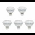 56036 BEGHELLI CONFEZIONE DA 5 LED MR16 6.5W 4000K