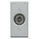 BTICINO AXOLUTE PRESA TV COASSIALE PASSANTE GRIGIO CHIARO HC4202P HC4202P-NO Bticino Frutti Axolute Tech 22,39 €
