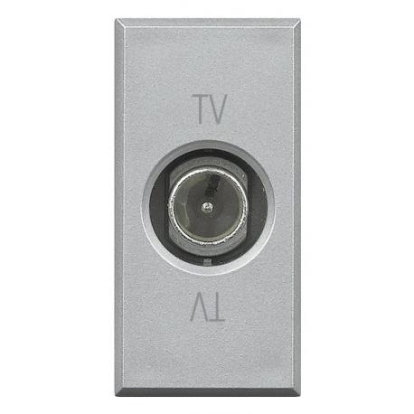 BTICINO AXOLUTE PRESA TV TERMINATA GRIGIO CHIARO HC4202PT HC4202PT-NO Bticino Frutti Axolute Tech 22,39 €