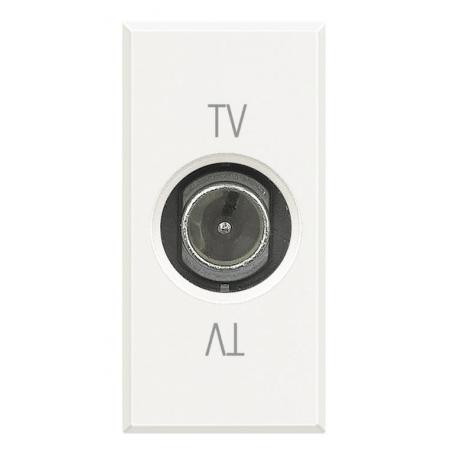 BTICINO AXOLUTE PRESA TV COASSIALE BIANCA HD4202DC HD4202DC-NO Bticino Frutti Axolute Bianchi 16,26 €