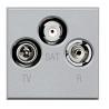 BTICINO AXOLUTE PRESA TV COASSIALE GRIGIO CHIARO HC4210D HC4210D-NO Bticino Frutti Axolute Tech 55,40 €