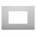 19653 79 VIMAR ARKE' PLACCA CLASSIC SILVER MATT 3 MODULI Vimar 4,78 €
