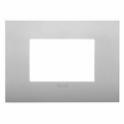19653 79 VIMAR ARKE' PLACCA CLASSIC SILVER MATT 3 MODULI Vimar 4,95 €
