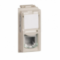 M4258RJ11 BTICINO LIVING NOW CONNETTORE RJ11 SABBIA K10